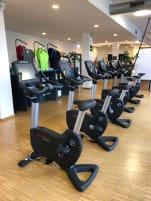 Life Fitness Life Cycles Engage Upright Bikes - Ergometer
