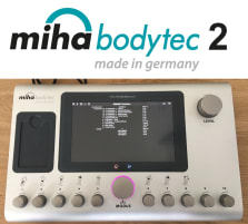 Miha Bodytec 2 II EMS device incl. base, from 2015, only ca. 900 operating hours, made in Germany, used - very good condition