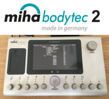 Miha Bodytec 2 II EMS device incl. base, from 2013, only ca. 1500 operating hours, made in Germany, used - very good condition