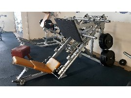 HAMMER STRENGTH 45° LEG PRESS (USED) LINEAR LEG PRESS