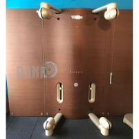 Technogym Kinesis Class Wall, set with 4 modules and TV, used, good condition - installation possible