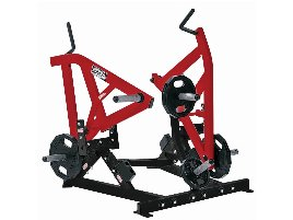 Hammer Strength Ground Base Combo Twist - Frame: Charocoal, Workarm: Red