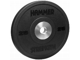 Hammer Bumper 10KG PremRbr Blk