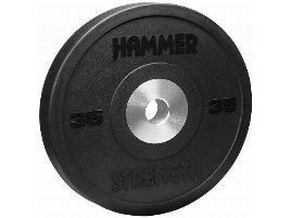 Hammer Bumper, 15KG, Premium Rubber, Black