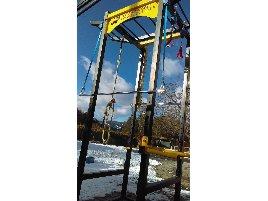 Stepless ladder - combination power rack - novelty
