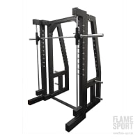 Mix Smith Machine Squat Rack (5B) Multipresse | Flame Sport