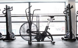 Professional Air Bike Cross-Training Air Ergometer Functional Training Transport Possible!