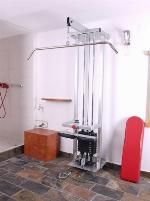 Lat pulldown, combination, as new -WALL MOUNTING-