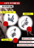 Life Fitness Silver Line ~ Recumbent Bike 95Ri ~ Summit 95Li ~ Stepper 95Si ~ Stückpreis ab 1.399€ ~ 0% Finanzierung für Studios* ~ Wunschfarbe möglich