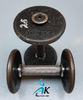 Gym80 - Satz Gushanteln - 2,5kg - 40kg