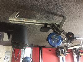 Gebrauchtes Rudergerät mit Flexiblem Wasserwiderstand