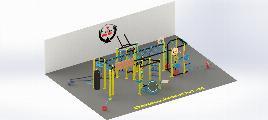 Funnex 2 Indoor - Zink + Pulverbeschichtung