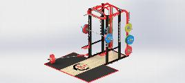 Power Rack - Indoor - Zinc + Powder Coating