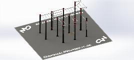 Clips 3 - Indoor / Outdoor - Combination Zinc + Stainless Steel