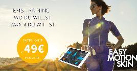 Easy Motion Skin® - EMS zu Hause - ohne Kabel ohne Wasser (ab 49€ im Monat)