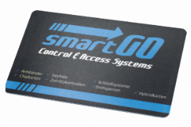 smartGo Transponder Chip Cards