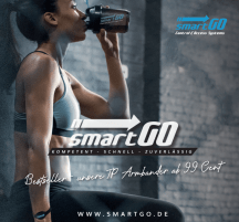 smartGo FitnessTracker with RFID Access Transponder