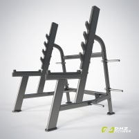 DHZ Fitness Squat Rack Fusion Pro – Directly from the manufacturer
