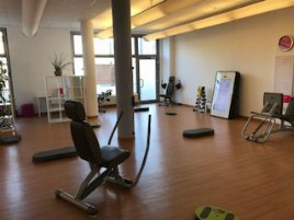 Ladies' fitness club for quick takeover
