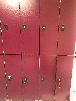 Well-kept lockers