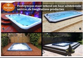 Super luxury whirlpool and swim spa