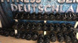 HANTELSET 2,5 bis 40 KG Strength Fitness