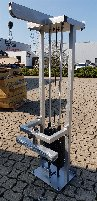 Pulley, wall mounting, as new, height 2000 mm, other heights possible
