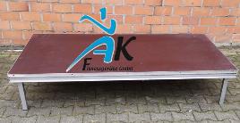 Aerobic Bühne (6-teilig, je 2 Meter x 1 Meter)