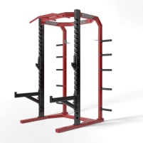 Hammer Strength athletic half rack