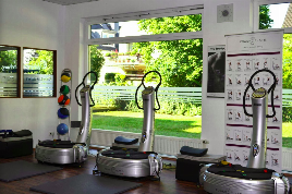 Gym (former Powerplate Premium Center) in top location in Leverkusen with fixed client base