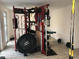 Rarely used fitness tower