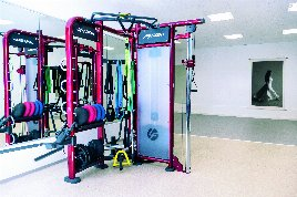 Fitness Studio, central and private