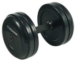 RUBBER DUMBBELLS - 2,5 kg - 70 kg