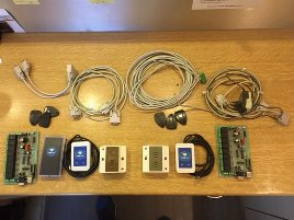 2x complete access control systems incl. software HITAG1