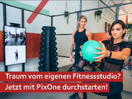 + + + From 249 Euro per month leasing + + + PixOne: The fully equipped profit center for founders and self-employed people in the fitness industry