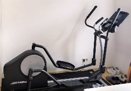 Selten benutzter Life Fitness Crosstrainer LCT-X1-GO