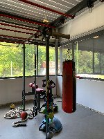 Iron Qube of the company gym 80