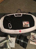 Vibrationsplatte, Powerboard Casada Fitnessgerät + 2 Vibrations-Hanteln - neu