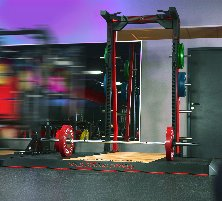 HOLD STRONG Fitness REVO.LINE Half Rack **EXHIBITION PIECE**
