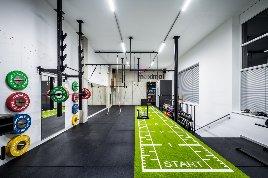 Kunstrasen Turf mit Markierung | Functional Fitness Speed Track 15 x 2 m | Kunstrasen in TOP-QUALITÄT