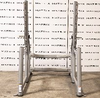 Gebrauchtes Matrix Squat Rack in Iced Silver (G3-FW72)