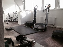 Microstudio || Fitnessgeräte und Powerplate || Ideal zur Existenzgründung || Aktiver Kundenstamm