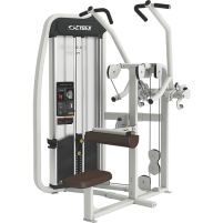 Cybex Eagle NX Lat Pulldown - Quartz White / Black Carbon Fiber