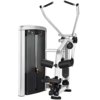 Life Fitness Insignia Series Pulldown - Diamond White Clear / Black Carbon Fiber