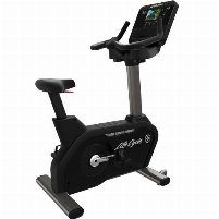 Life Fitness Integrity DX Upright Bike - Black Onyx