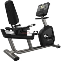 Life Fitness Integrity DX Recumbent Bike - Black Onyx