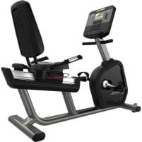 Life Fitness Integrity DX Recumbent Bike - Black Onyx