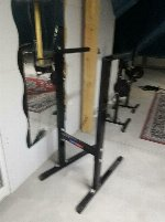 Weight training equipment completely from fitness studio