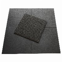 Stock clearance 30% discount - HOLD STRONG Fitness floor protection mats in 43 mm thickness with honeycomb system for noise and vibration reduction - from 200 sqm free shipping!