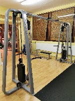 Various fitness equipment